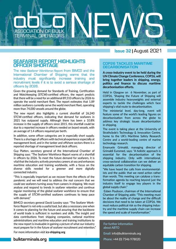 ABTO NEWS latest edition